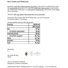 Travellunch Bestseller Mix II 6x250 g